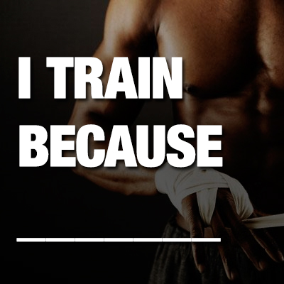 i_train_because
